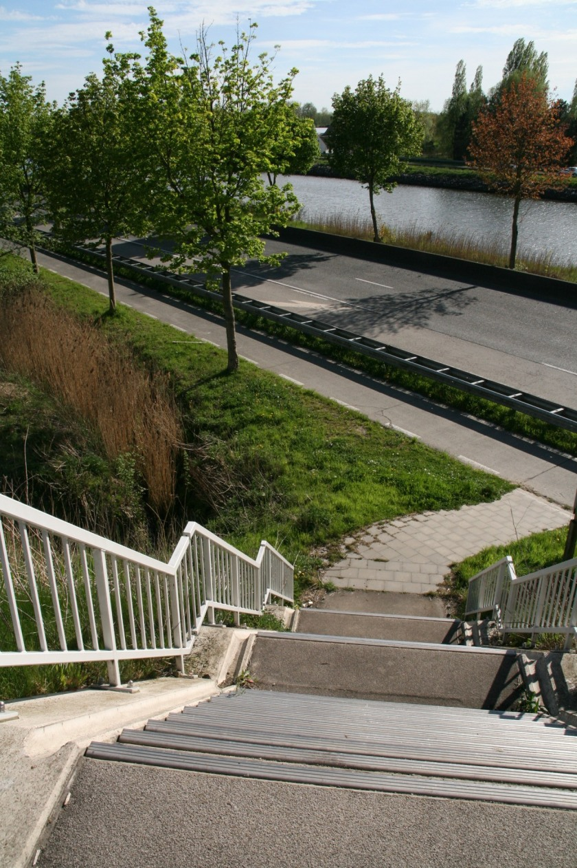 27apr08 Ringvaartbrug Drongen