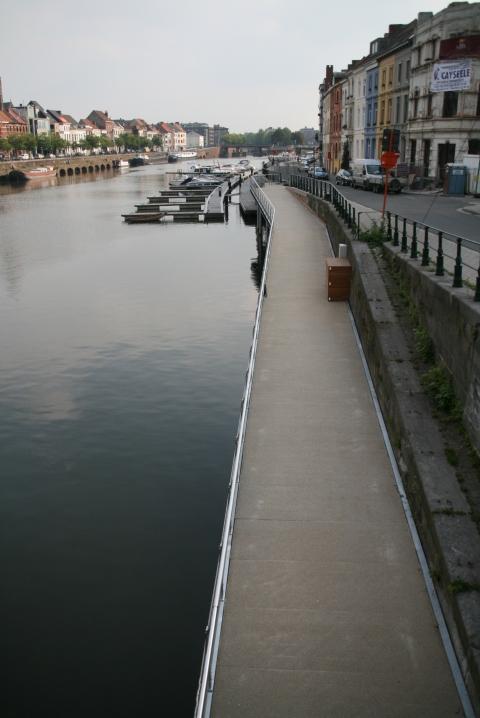 25sept08 15u40 Sint-Joriskaai/Nieuwbrugkaai