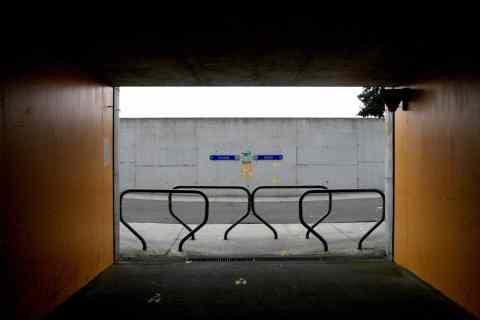23sep09, 12u31, fietstunnel onder E34 Antwerpen-Knokke