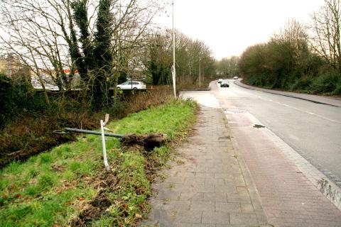 20dec12, 15u58, Heerweg Noord - Zwijnaardsesteenweg