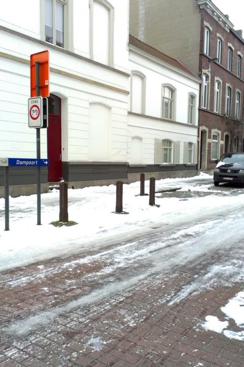 """Ossenstraat, """"naar Dampoort"""""""