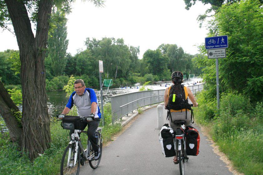 15jun13, 17u23, Brandenburg, fietsroute Berlijn - Kopenhagen