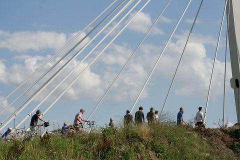 04aug13, 17u11, brug over Ringvaart