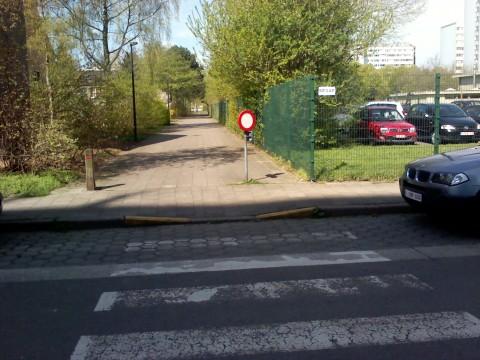 richting oversteekplaats