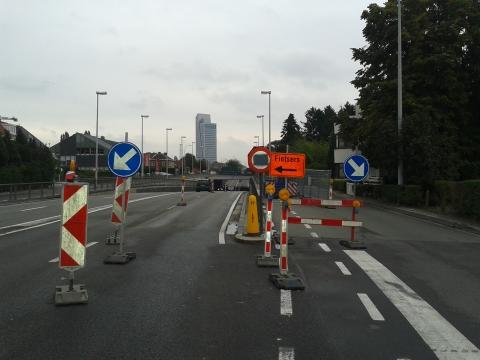 Kortrijksesteenweg thv spoorweg - 2013-10-17