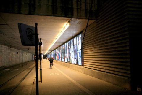 09dec13, 17u09, voorlopige tramtunnel