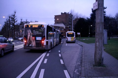 22jan14, 08u24, Parklaan / Emile Clauslaan