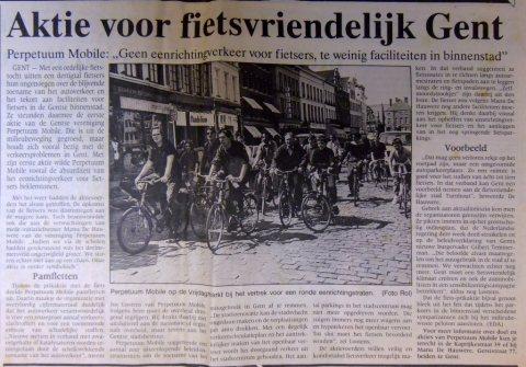 De Gentenaar, 5 mei 1989