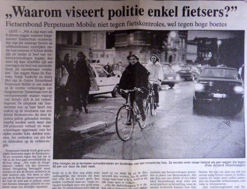 De Gentenaar(?), januari 1993