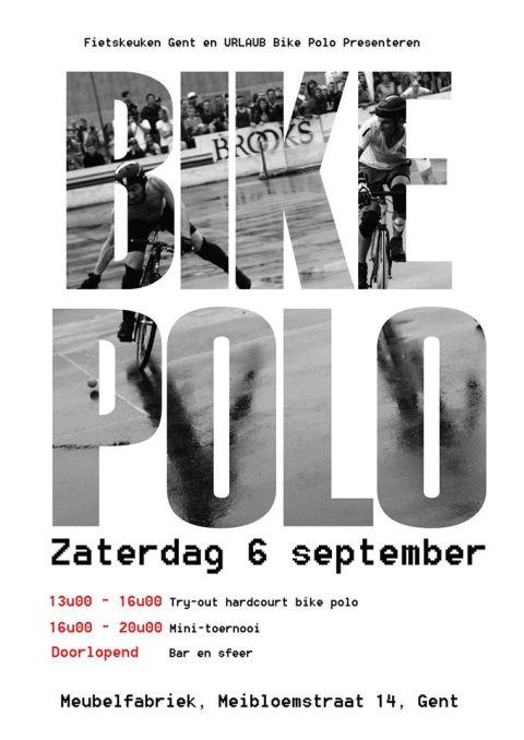 Affiche bikepolo 6 september 2014