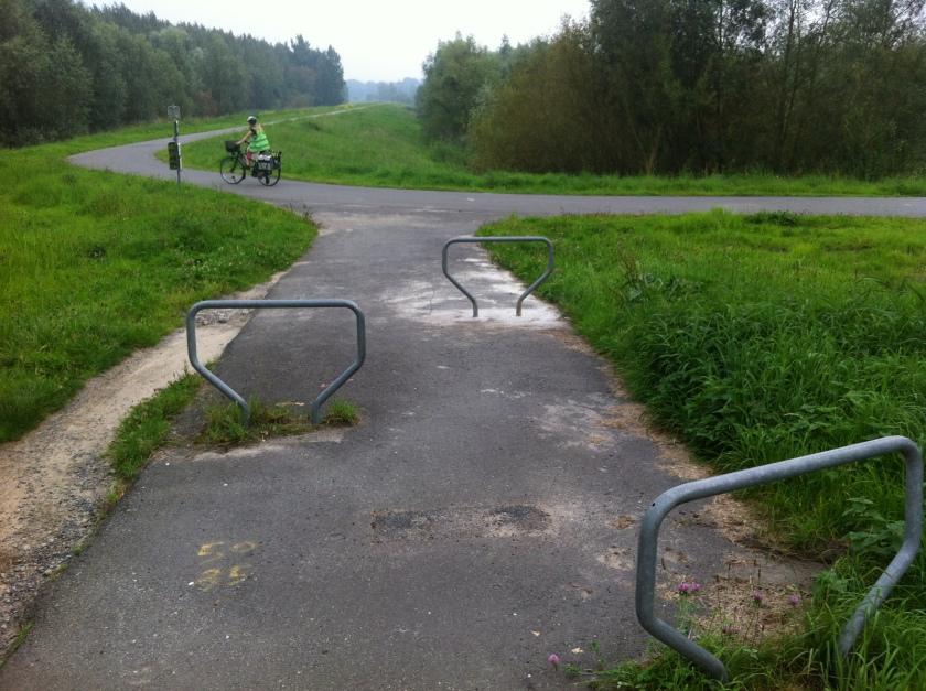 Verbinding Veerdreef - Scheldedijk - aangepaste obstakels