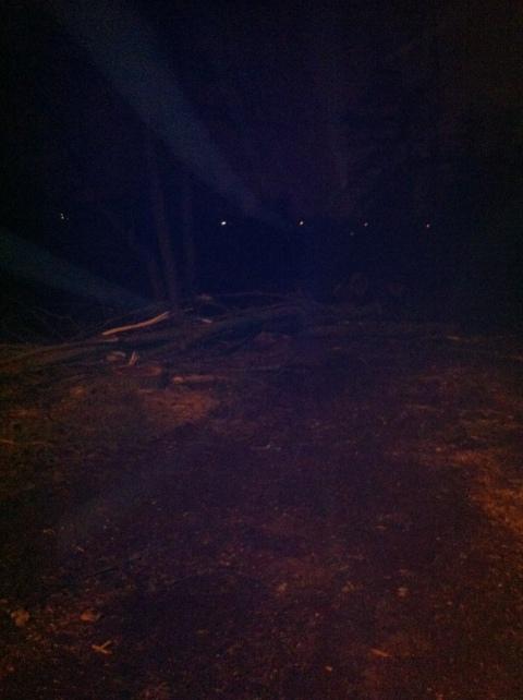 Verbinding Kruisdreef - Scheldedijk - bij nacht