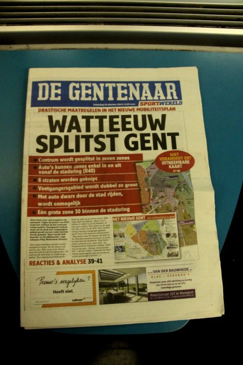 18okt14, 22u38, trein Brugge-Gent