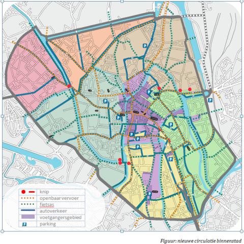 nieuw circulatieplan binnenstad