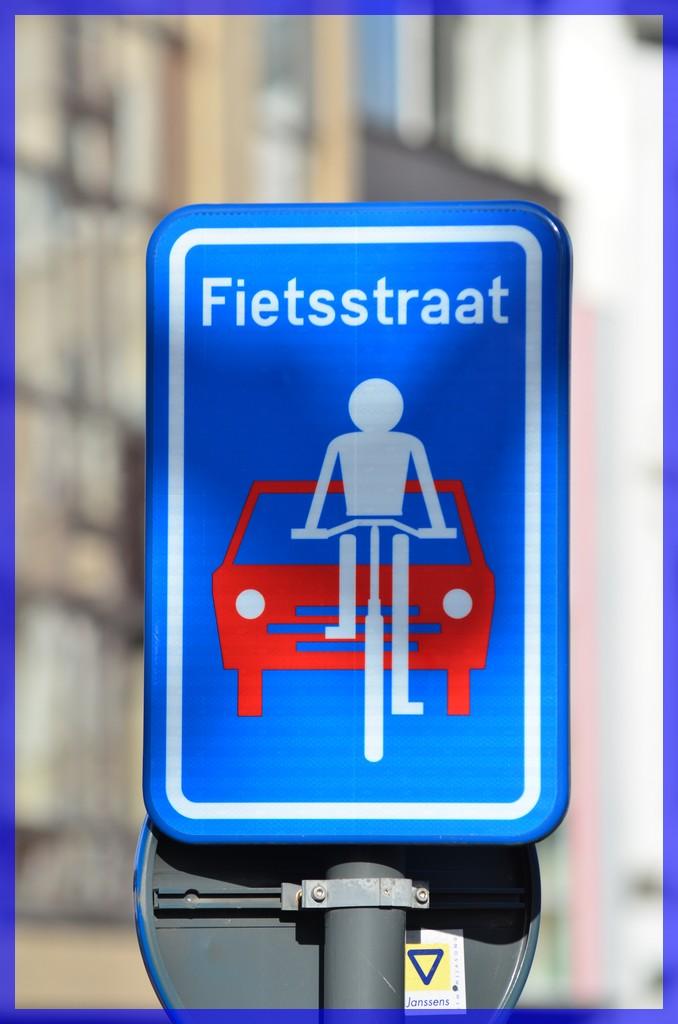 bord fietsstraat