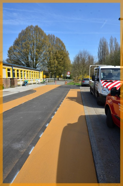 Wijmakker, toegang tot Sint-Baafskouterpark (10 april 2015)