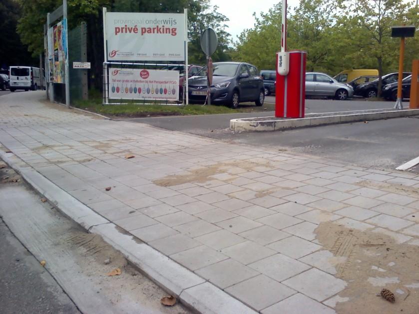 Toegang parking