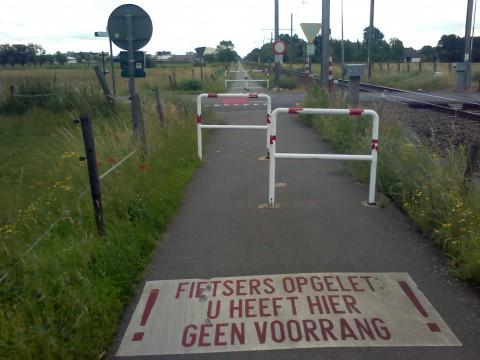 fietser geen voorrang