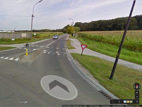 Keistraat, De Pinte (bron: Google Streetview)