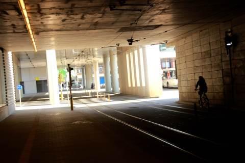"""19sep16, """"voorlopige"""" tramtunnel"""