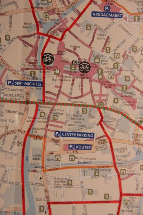 fietskaart 2009