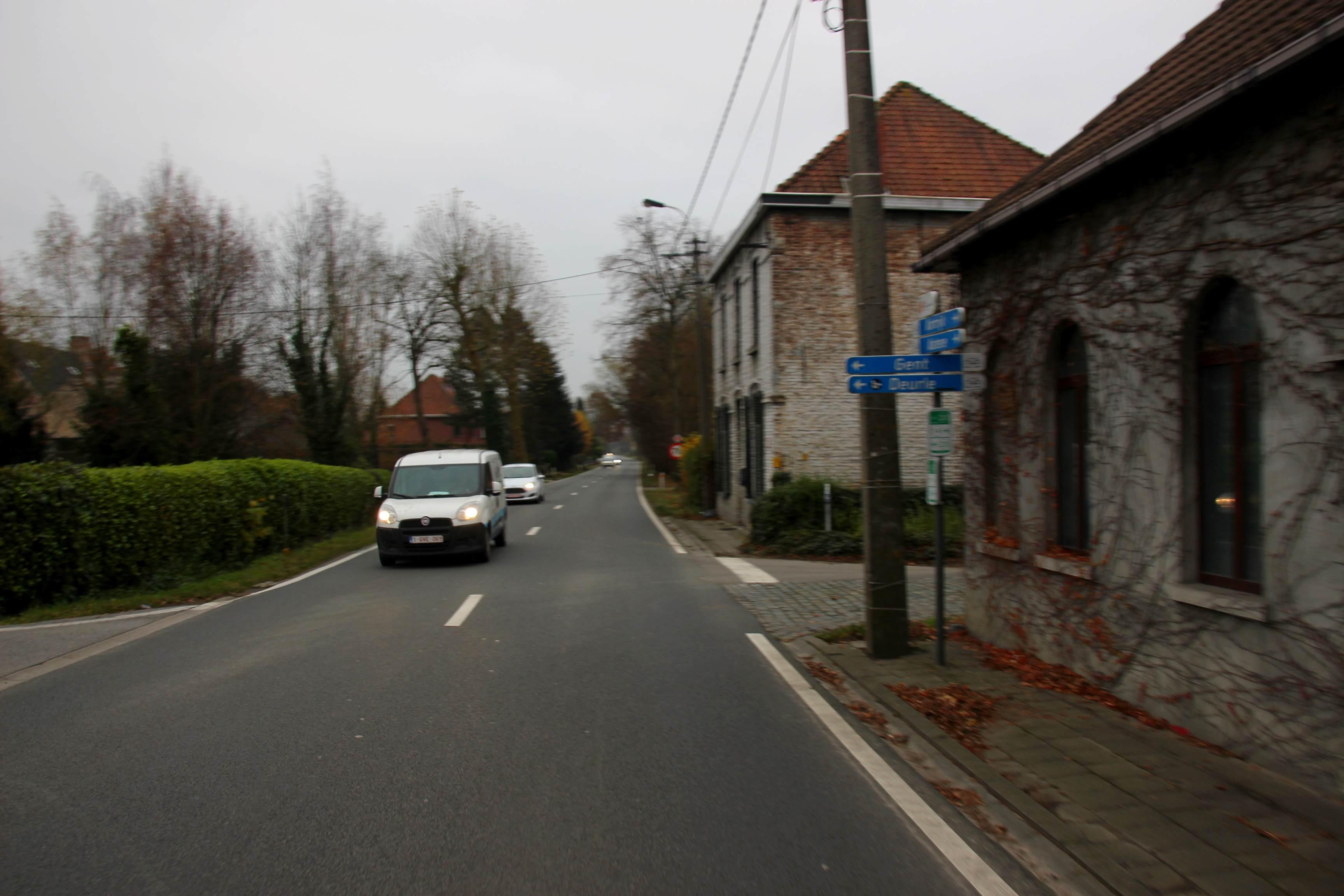26nov16, Klapstraat, Sint-Martens-Latem