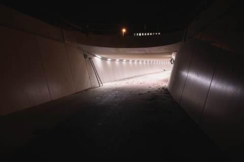 09dec16, tunnel onder Koning Albert1-laan